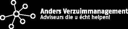 Anders Verzuimmanagement logo wit