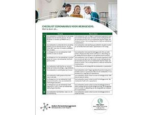 Corona checklist ziek melden en wat te doen als…
